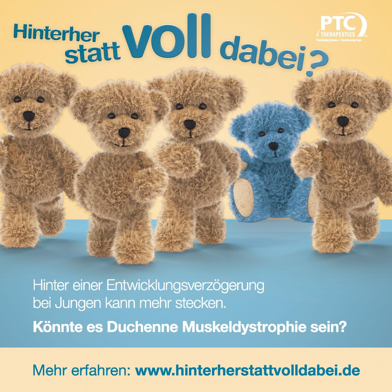 Kampagne zur Früherkennung der Duchenne Muskeldystrophie (DMD)